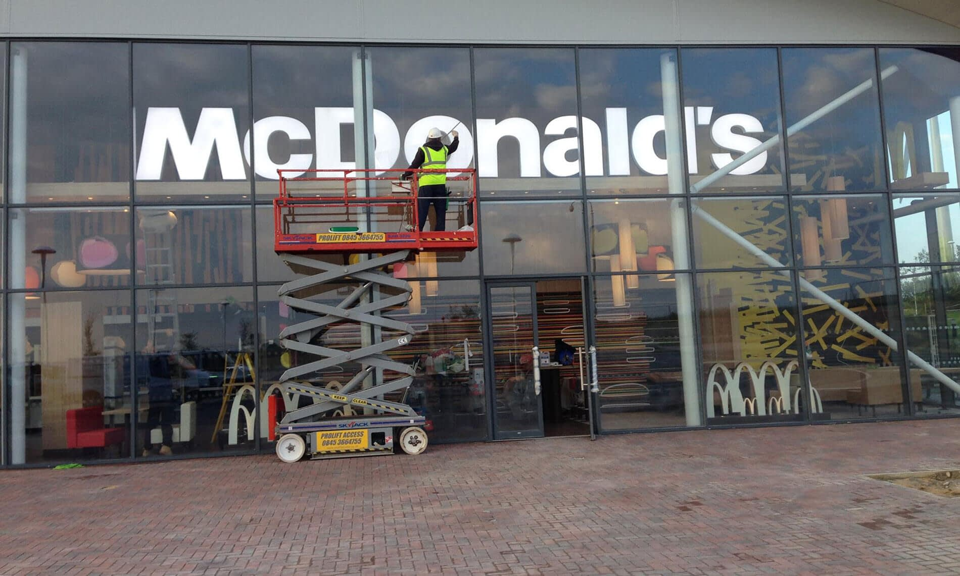 After Builders Mcdonalds