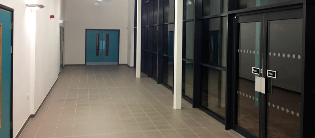 community centre builders clean