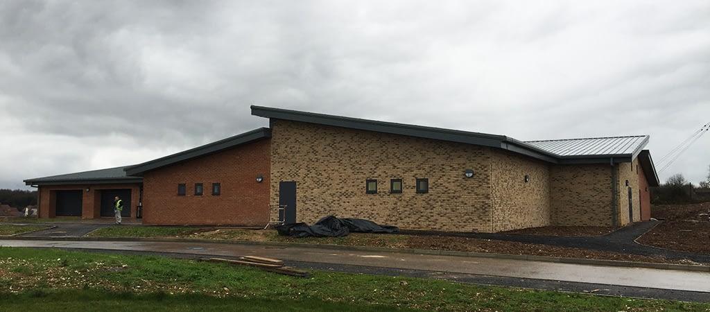 Sport Center builders clean