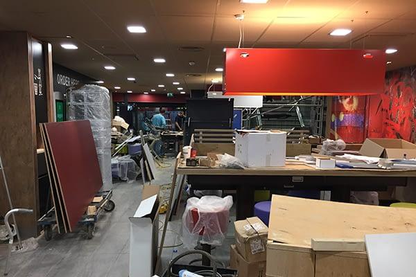 professional builders clean london